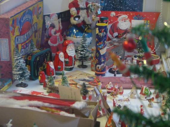 Christmas decorations by Bob Leggett